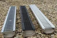 Лоток канализационный 1200мм с трапом для отвода воды