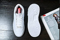 Кроссовки белые Nike Air Force Найк Аир Форс Кросівки Найк Аір Форс