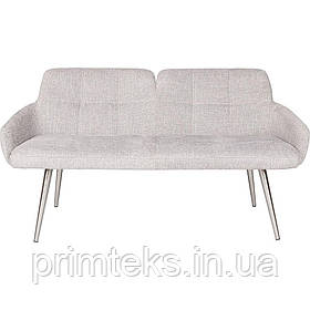 Кресло-банкетка OLIVA (Олива) светло-серая