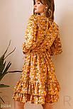 Літній квіткове плаття жовте, фото 5