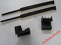 Ремкомплект Бардачок ВАЗ 2110  замок - тяга 2шт и клавиша крышки бардачка 2шт вещевого перчаточного ящика