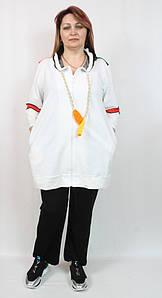Турецкий женский костюм в спортивном стиле, размеров 54-64