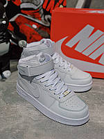 Скидка 35% Кроссовки белые Nike Air Force High White, фото 1