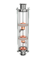 """1.5""""/2"""" Колпачковая колонна (флейта) """"Вавилон"""", 3 уровня, фото 1"""