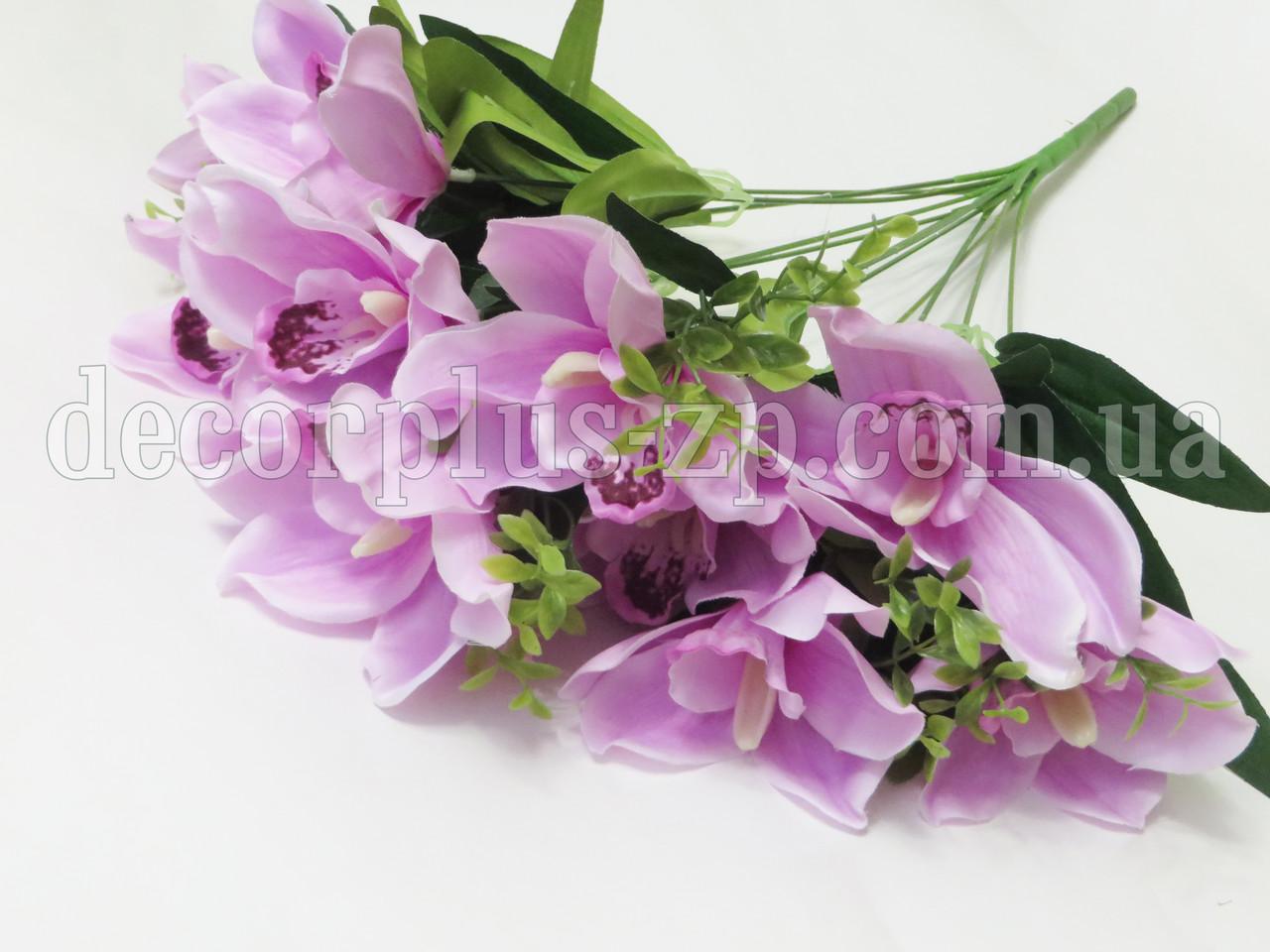 """Букет орхидеи """"Люкс"""" (12 веток), нежно-сиреневая"""