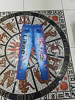 """Лосины детские под джинс LIKEE  на девочку 7-11 лет """"JUNIOR"""" купить оптом в Одессе на 7км"""