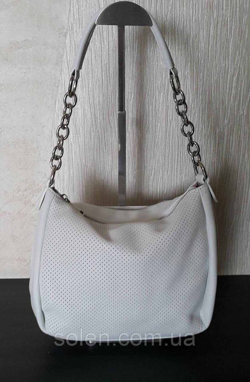 Стильна жіноча сумка з натуральної шкіри.Маленька шкіряна сумка. Сумка мішок. Жіноча сумка.
