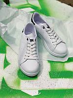 Кроссовки белые Adidas Stan Smith Black, фото 1