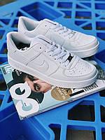Кроссовки  Nike Air Force White белые, фото 1