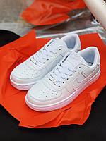 Кроссовки Nike Air Force белые, фото 1
