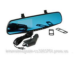 Зеркало-видеорегистратор Vehicle Blackbox DVR Full HD Черный (2368)
