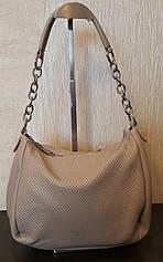 Стильная женская сумка из натуральной кожи.Маленькая кожаная сумка. Сумка мешок. Женская сумка. Бежевый