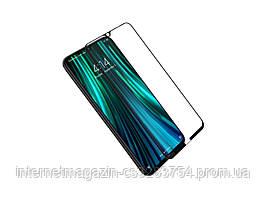 Защитное 5D стекло Nano Flexible GLASS ITOP для Xiaomi Redmi Note 8 Full Cover (2532)