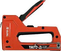Степлер для скоб и гвоздей YATO YT-70021 (Польша)