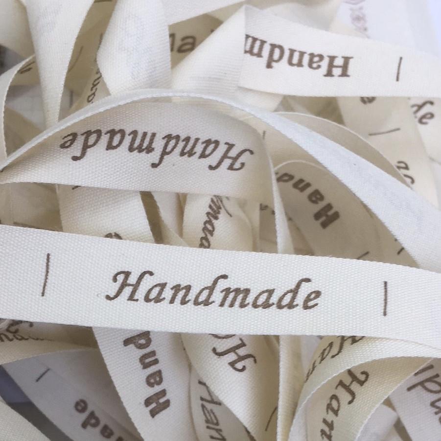 Хлопковая лента Handmade (15 мм)