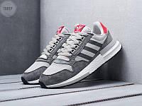 Мужские кроссовки Adidas ZX 500 (серые)