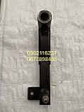 Важіль 54-0-124-1-2А натяжного шківа ременя ходового варіатора комбайн Нива СК-5, фото 3