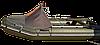 Носовой тент для лодки  Bark 350 серый