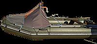 Носовой тент для лодки  Bark 350 серый, фото 1