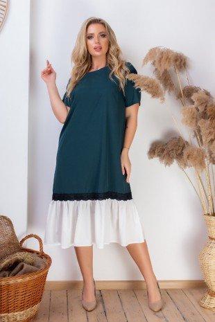 Платья  11581  XL зеленый