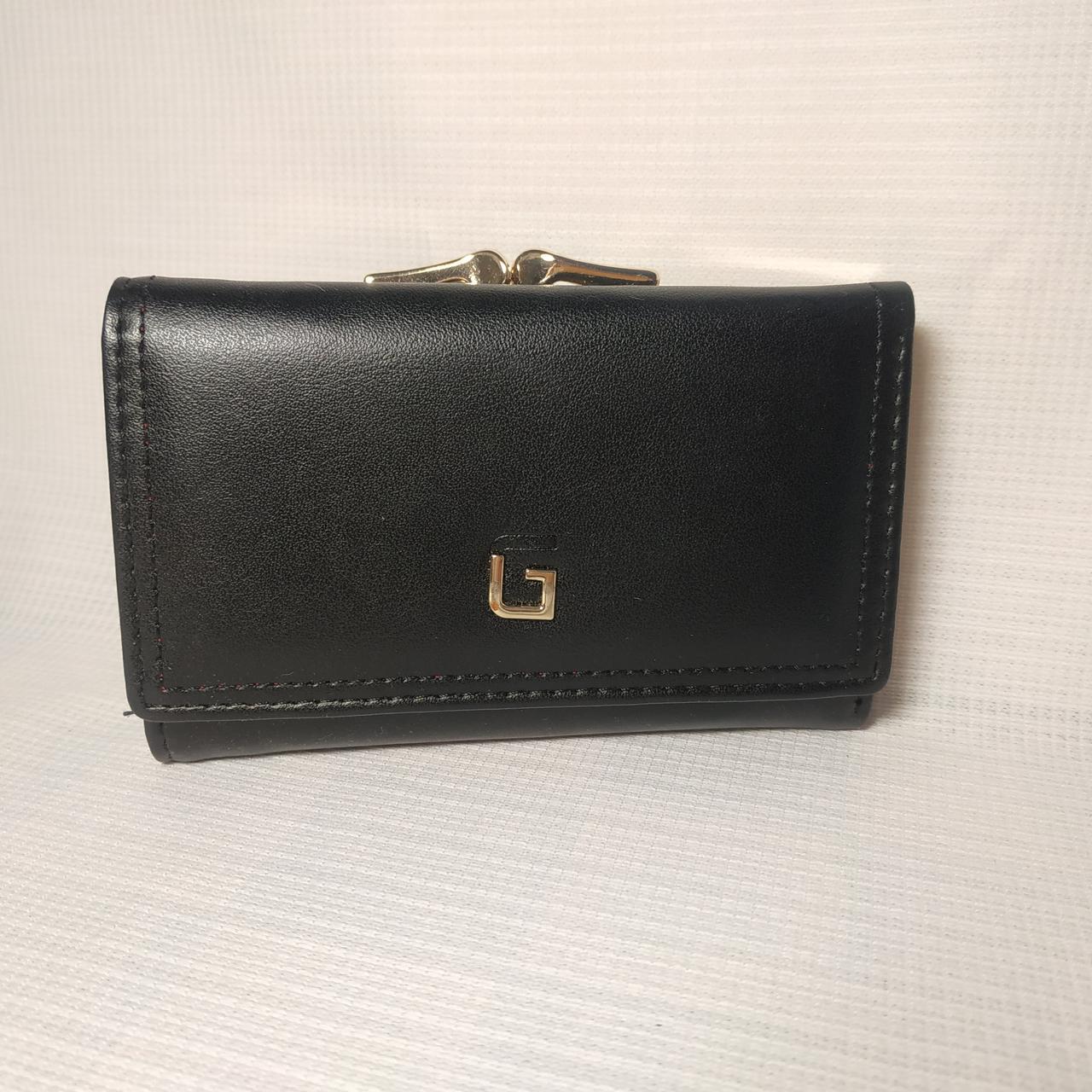 Небольшой классический женский кошелек портмоне из качественной PU кожи C7684-004