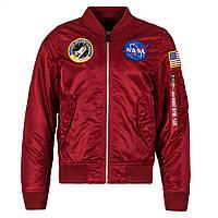 Мужская ветровка L-2B NASA Flight Jacket Alpha Industries MJL47020C1 (Commander Red), фото 1