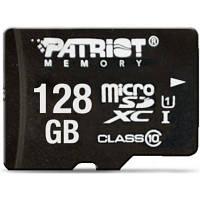Карта памяти Patriot 128GB microSDXC class 10 UHS-I LX (PSF128GMCSDXC10)