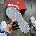 Мужские кроссовки Puma Cali Black/White 351TP, фото 4