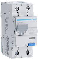 Дифференциальный автоматический выключатель 1+N, 16A, 10 mA, С, 6 КА, A, 2м