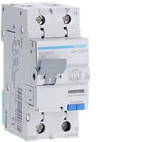 Дифференциальный автоматический выключатель 1P+N 6kA C-40A 30mA A