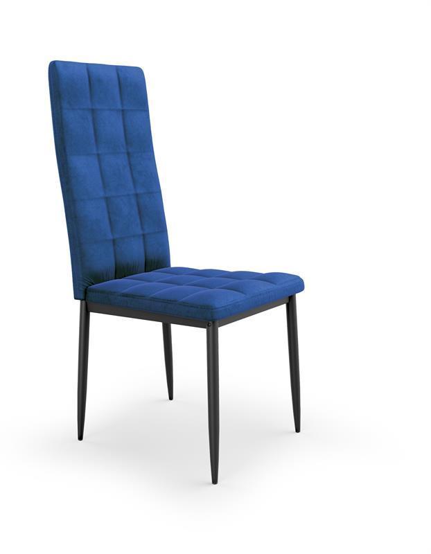 Стілець K415 синій ВЕЛЬВЕТ (Halmar)