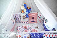 Комплект бортиков в детскую кроватку.