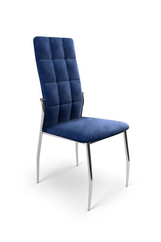 Стул K416 ВЕЛЬВЕТ синий (Halmar)