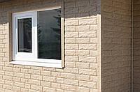 Вініловий сайдинг Stone House Стоун-Хаус Камінь Золотистий, фото 1