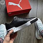 Чоловічі кросівки Puma Cali Black/White 351TP, фото 2