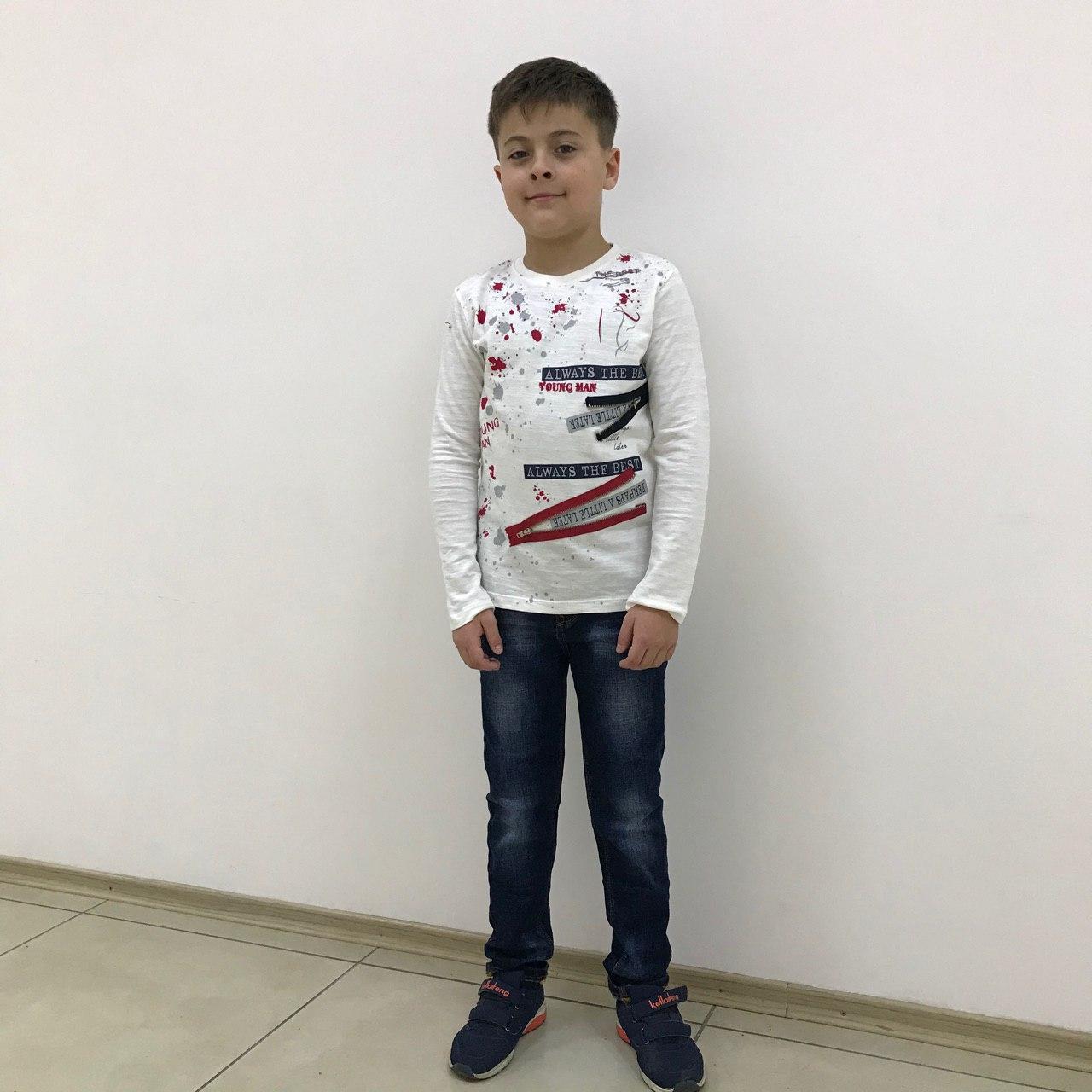 Реглан (футболка с длинным рукавом) на подростка ТМ MACKAYS