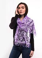 Праздничный шарф Fashion Вивея 170*60 см сиреневый