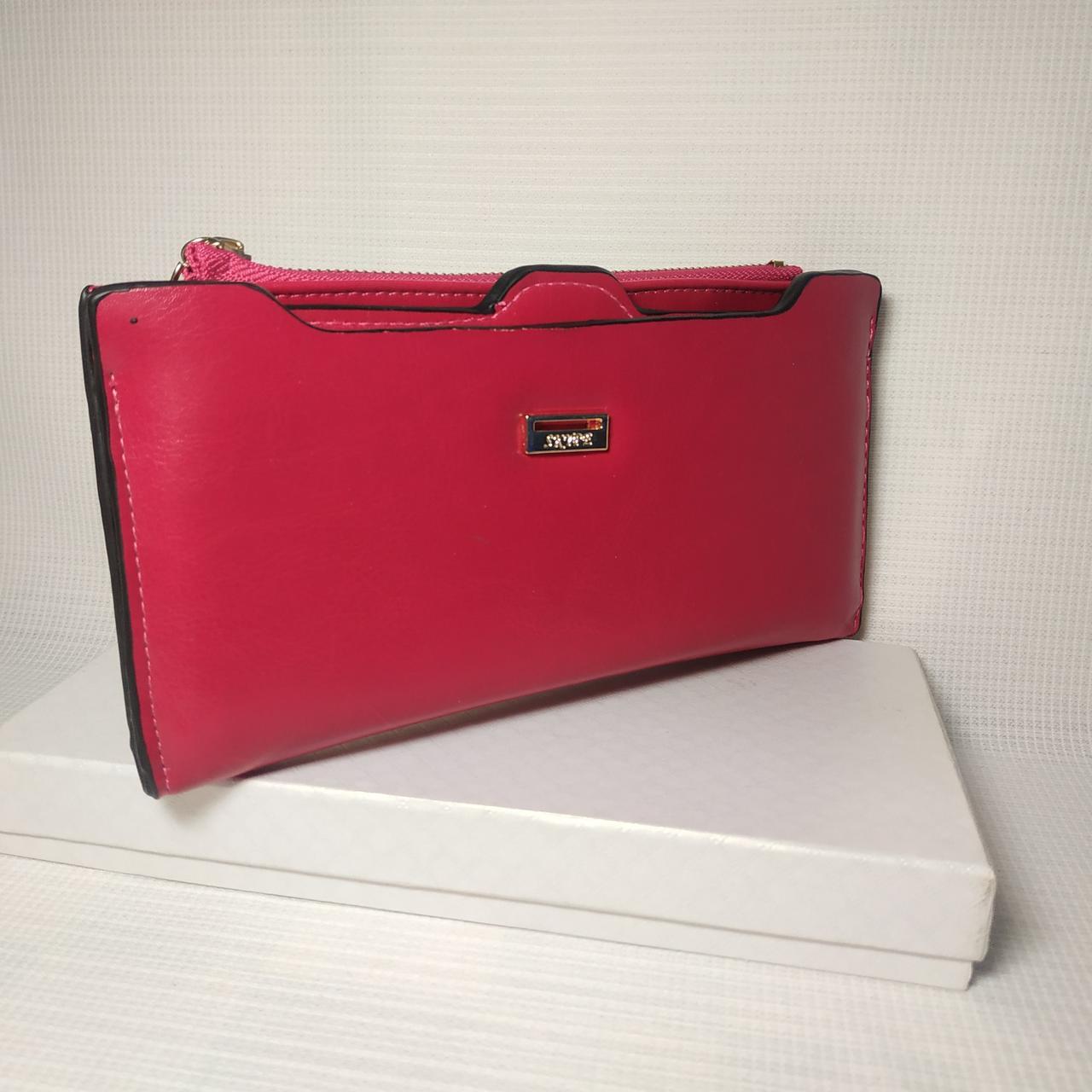 Классический женский кошелек клатч из PU кожи DKR-PU-000