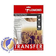 Термотрансферная бумага LOMOND для светлых тканей, A3, 140 г/м2, 50 листов