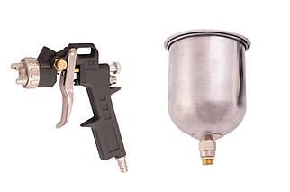 Пневмопістолет лакофарбовий Miol - верхній алюмінієвий бак 500 мл, d=1,5 мм (80-865), (Оригінал)