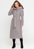 Пальто женское длиное (весна-осень) серое (46 - 54)