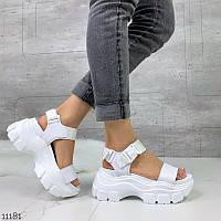 Босоніжки жіночі сандалі PRO голографічні в стилі buffalo буффало, фото 1