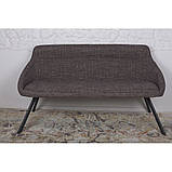 Кресло-банкетка TOLEDO NIC ( Толедо) рогожка кофе-мокко, фото 2