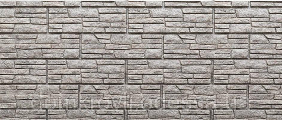 Цокольный Сайдинг Stone House Стоун-Хаус Сланец Бежевый - фото 1