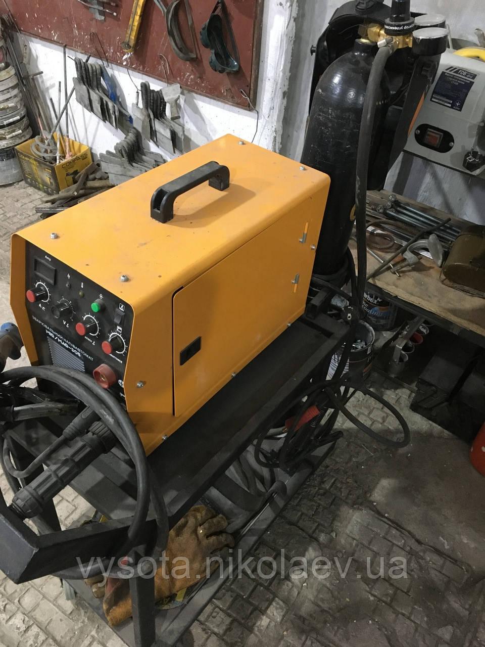 Сварочный полуавтомат-инвертор Kaiser MIG / MAG - 305 с баллоном и с тележкой