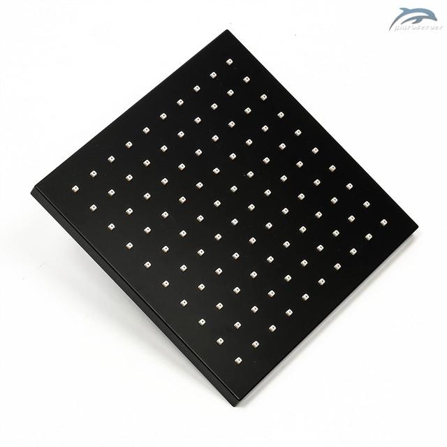 Лейка верхнего душа для душевой системы WEMI SBT-01 квадратной формы с размерами 200 на 200 мм.