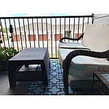 Стол садовый Allibert by Keter Corfu Coffee Table Graphite ( графит ), фото 5