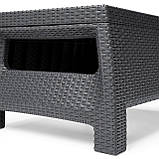 Стол садовый Allibert by Keter Corfu Coffee Table Graphite ( графит ), фото 8