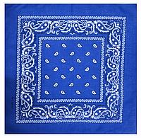 Классическая бандана, 55*55 см, синий, фото 1