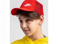Кепка на лето для мальчика оптом - Найк (реплика) - хлопок сетка, фото 1